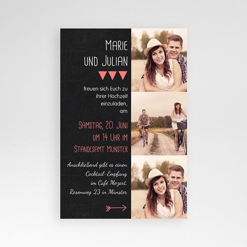Hochzeitskarten Querformat - Klar 39820 preview