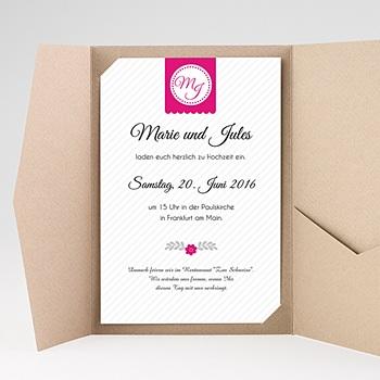 Hochzeitskarten Querformat - Just us - 0