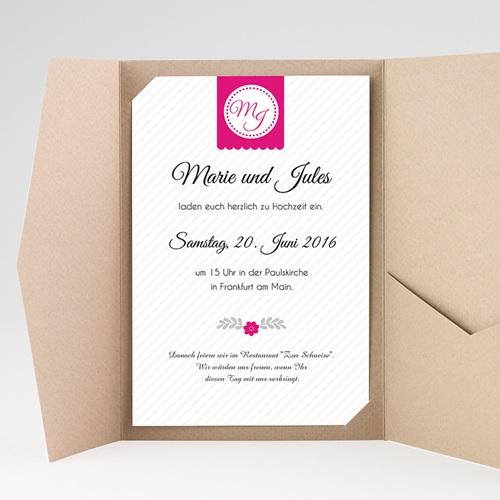 Hochzeitskarten Querformat - Gemeinsam 39849 test
