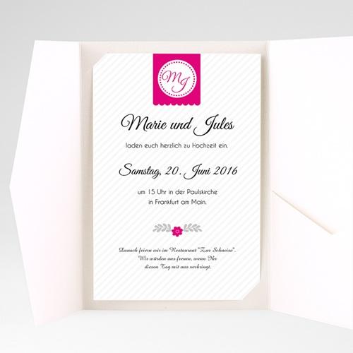 Hochzeitskarten Querformat - Gemeinsam 39850 test