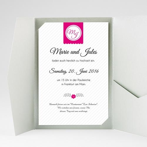 Hochzeitskarten Querformat - Gemeinsam 39851 test