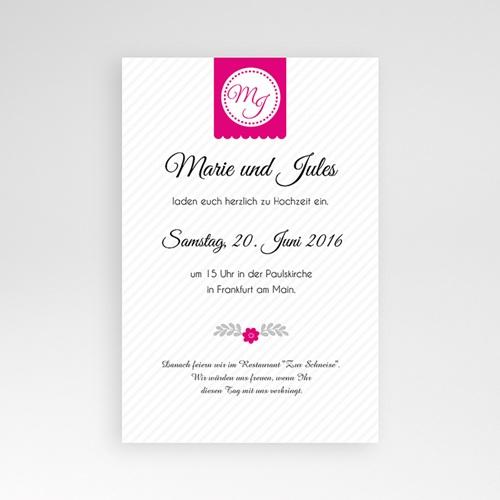 Hochzeitskarten Querformat - Gemeinsam 39852 test