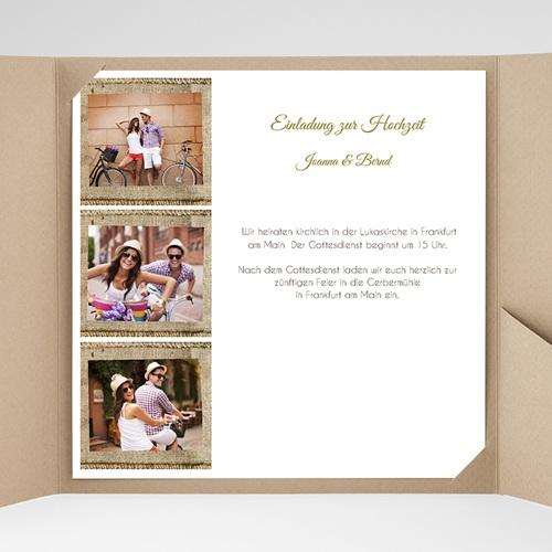Hochzeitskarten Quadratisch - Apt 40304 test