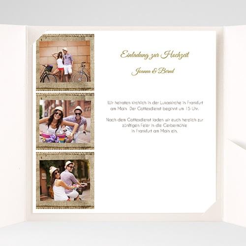 Hochzeitskarten Quadratisch - Apt 40305 test