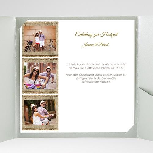 Hochzeitskarten Quadratisch - Apt 40306 test
