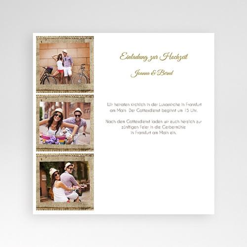 Hochzeitskarten Quadratisch - Apt 40307 test