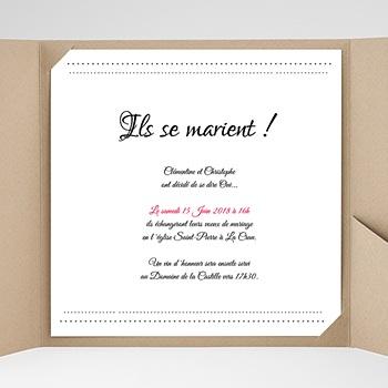 Hochzeitskarten Quadratisch Edel und schön