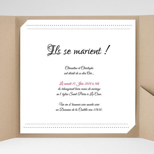 Hochzeitskarten Quadratisch - Edel und schön 40322 test