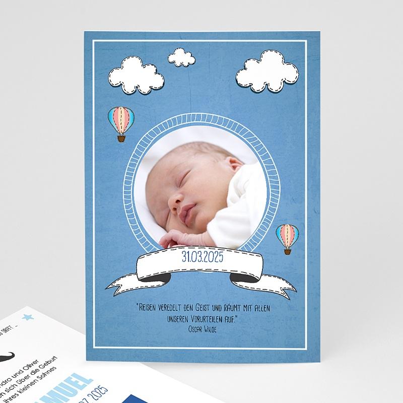 Geburtskarten Ballonfahrt