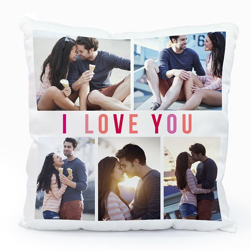 Personalisierte Foto-Kissen Big Love