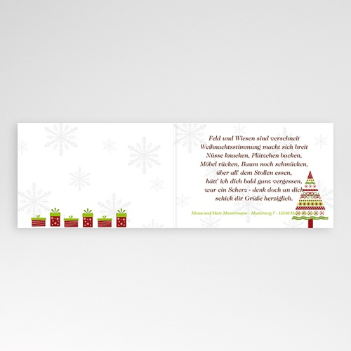Weihnachtskarten - Landschaft im Schnee 4047 preview