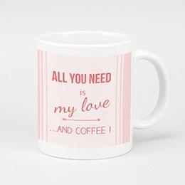 Fototassen Loisirs Love and Coffee