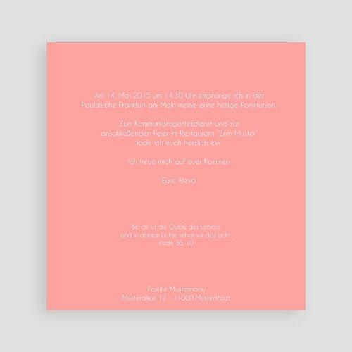 Einladungskarten Kommunion Mädchen - Kirche 40522 preview