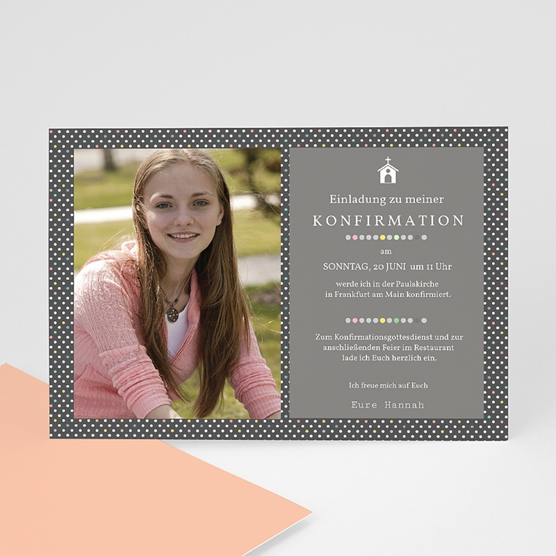 Einladungskarten Konfirmation Mit Stil