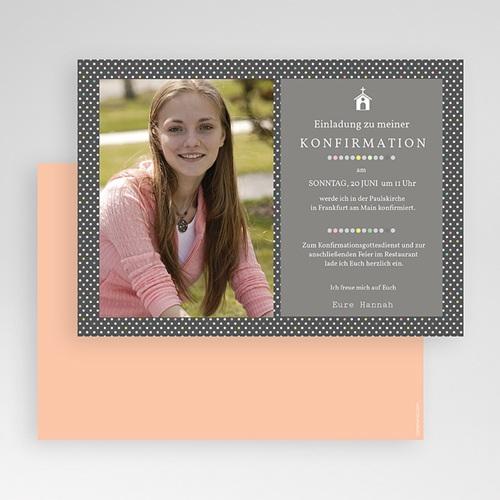 Einladungskarten Konfirmation - Mit Stil 40562 preview