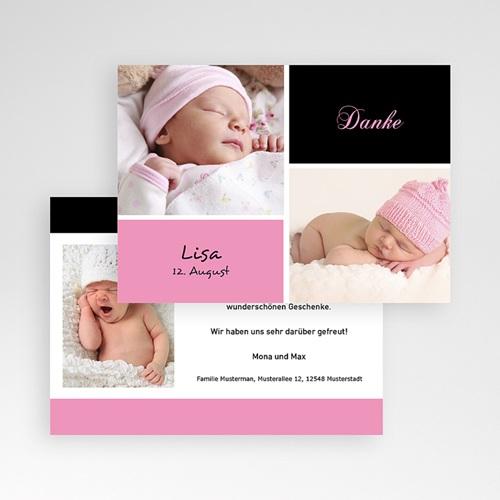 Dankeskarten Geburt Mädchen - Alia 4059 thumb
