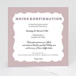Karten Confirmation Eleganz
