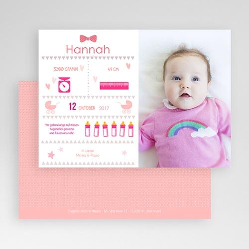 Geburtskarten für Mädchen Illustriert gratuit
