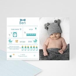 Babykarten für Jungen - Pictogramm - 0