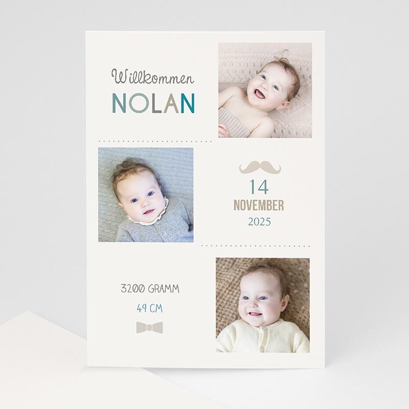 Geburtskarten für Jungen Made in Love