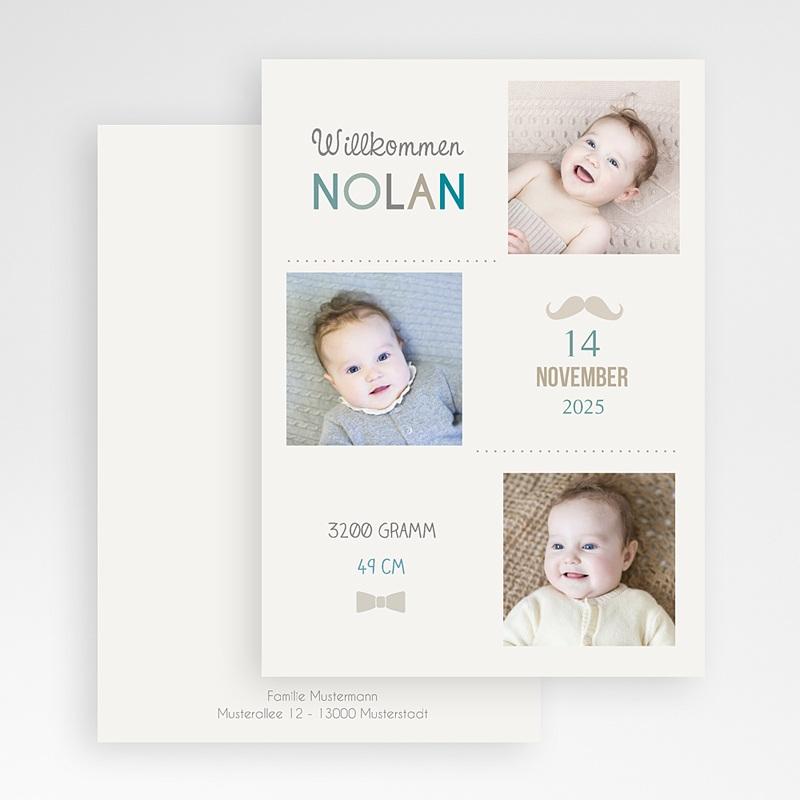 Geburtskarten für Jungen Made in Love gratuit