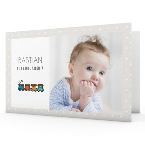 Babykarten für Jungen - Lokomotive 40640