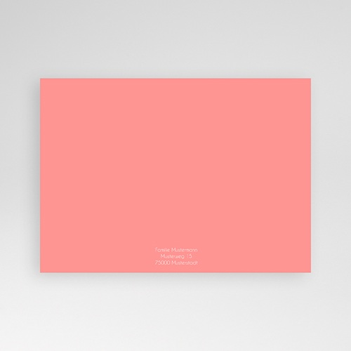 Geburtskarten für Mädchen Initalien pas cher