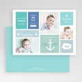 Geburtskarten für Jungen Kleiner Anker gratuit