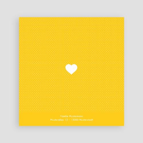 Geburtskarten für Mädchen Von Herzen pas cher