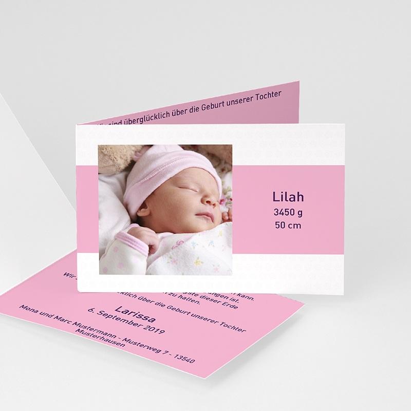 Geburtskarten für Mädchen Tessa