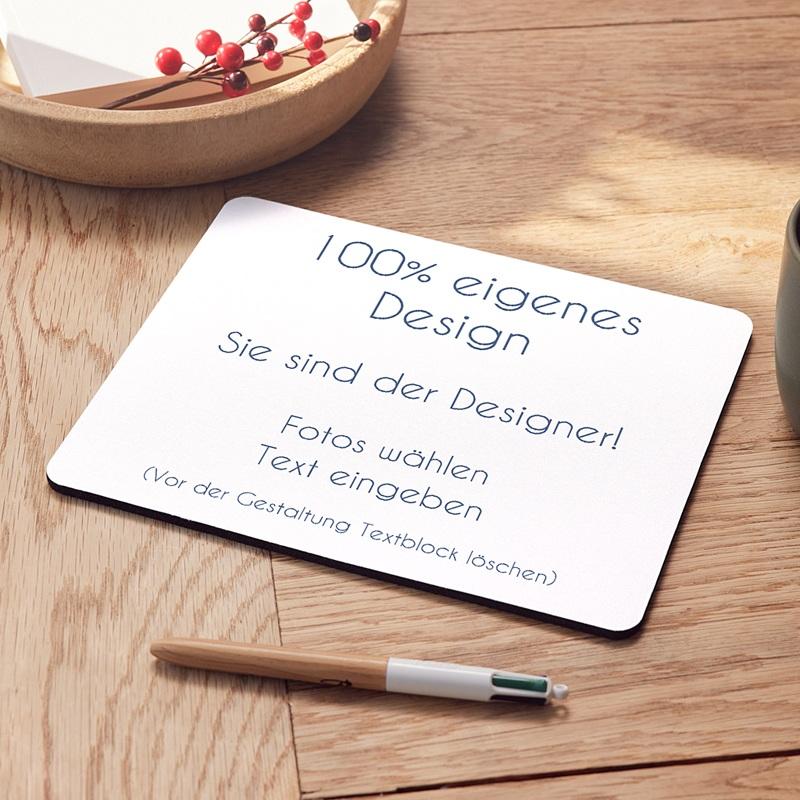Personalisierte Foto-Mousepad Schokoladig