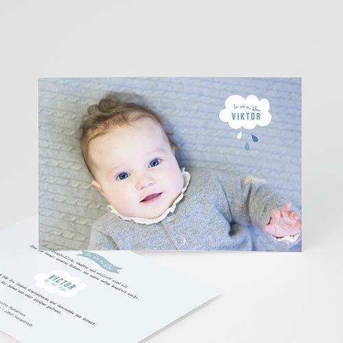 Geburtskarten für Jungen Traumwolke