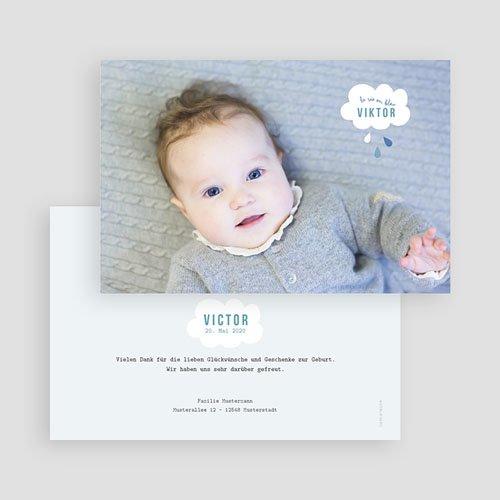Geburtskarten für Jungen Traumwolke gratuit
