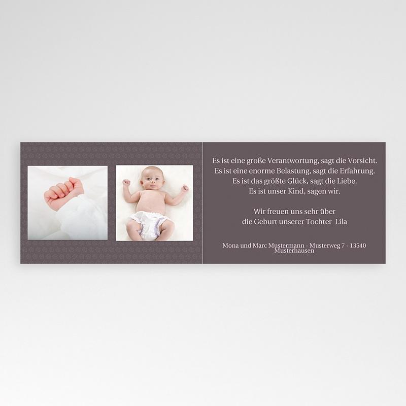 Geburtskarten für Mädchen - Dilara 4083 thumb