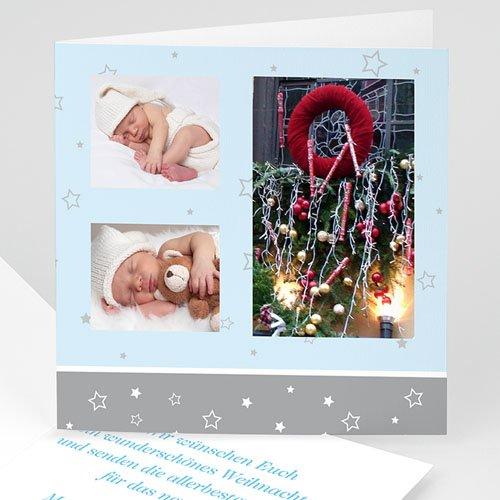 Weihnachtskarten - Friedliche Weihnachten 4086