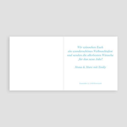 Weihnachtskarten - Friedliche Weihnachten 4087 preview