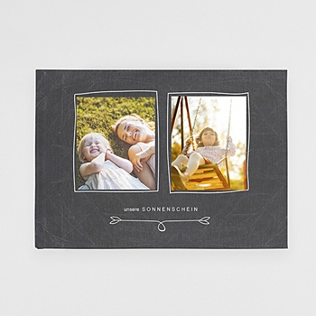 Panorama Fotobücher A4 Querformat - Nostalgie Kreide - 0