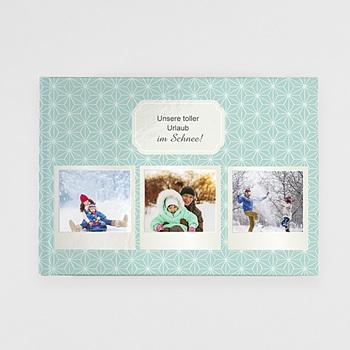 Panorama Fotobücher A4 Querformat - Polaroid Winter - 0
