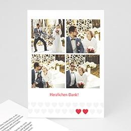 Danksagungskarten Hochzeitstanz