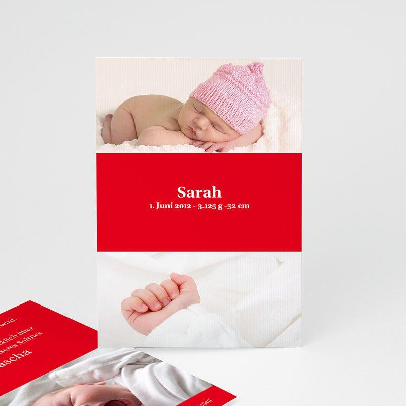 Geburtskarten für Mädchen Melvin