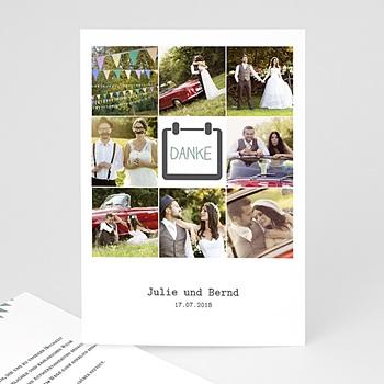 Danksagungskarten Hochzeit  - Festive - 0