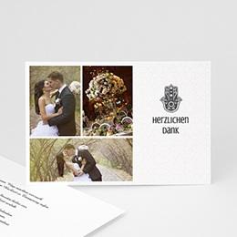 Danksagungskarten Hochzeit  - Fatima - 0