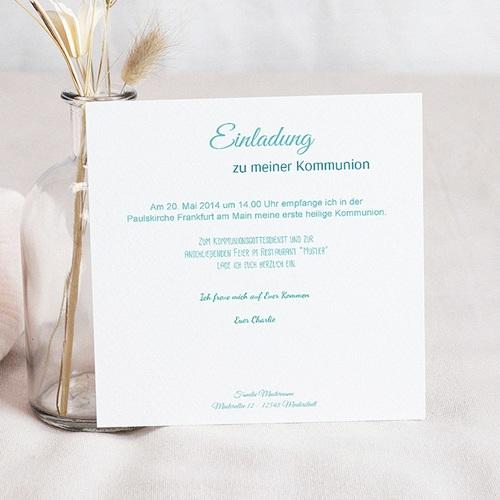 Einladungskarten Kommunion Jungen - Multiple Typographie 41143 test