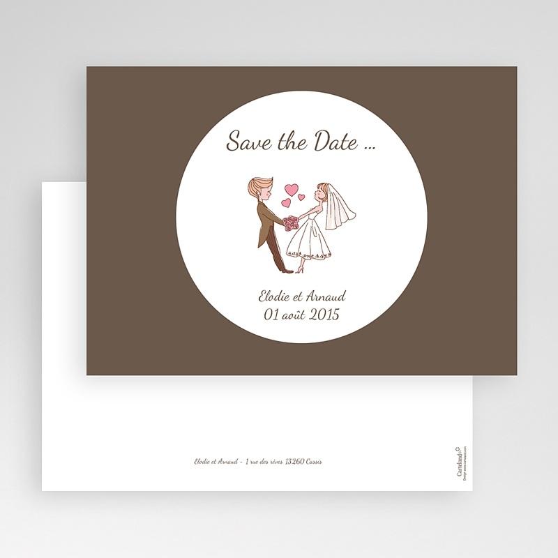 Save The Date Karten Hochzeit Es lebe die Liebe gratuit
