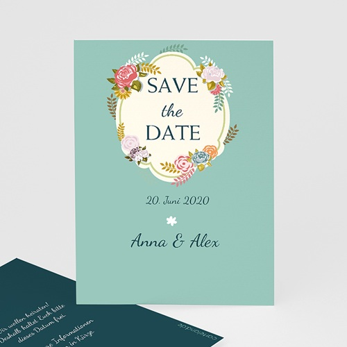 Save The Date  - Vintage Romantik 41235 test