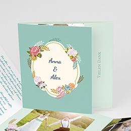 Danksagungskarten Hochzeit  Boho Style