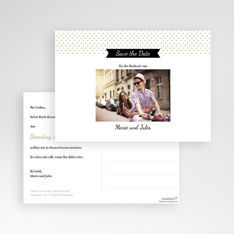 Save The Date Karten Hochzeit Tandem pas cher