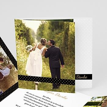 Danksagungskarten Hochzeit  - Tandem - 0