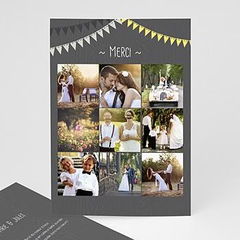 Danksagungskarten Hochzeit  - Hochzeitsdeko - 0