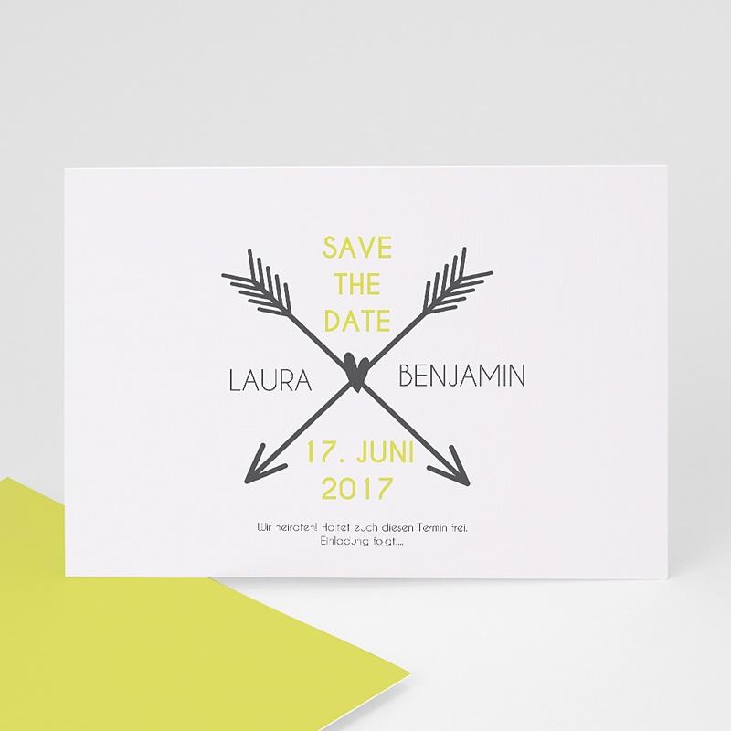 Save The Date Karten Hochzeit Liebespfeil